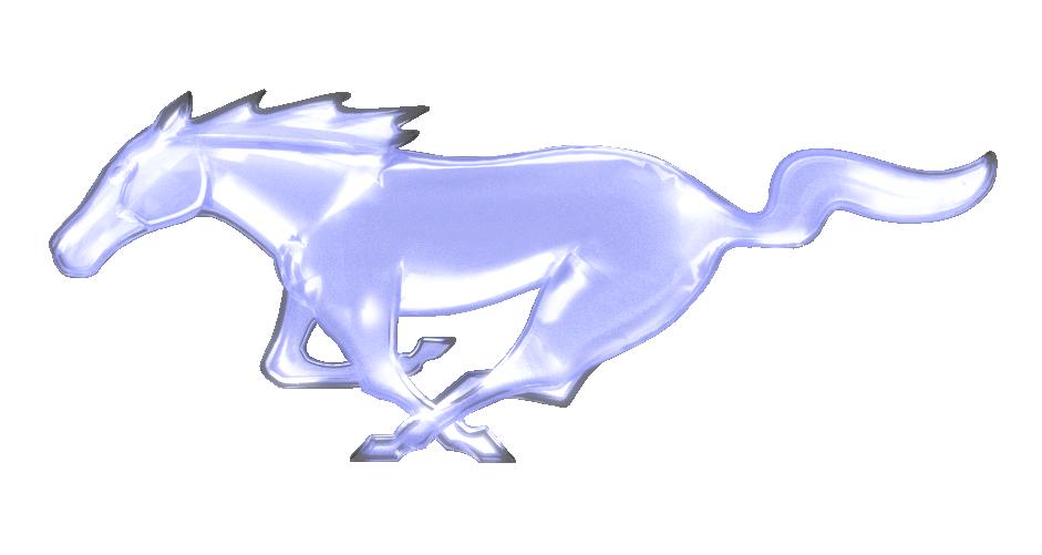 Light Up Mustang Logo